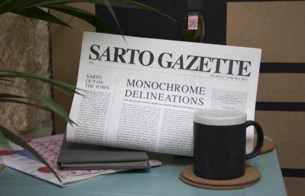 sarto gazette 2point3 graphic design studio malta