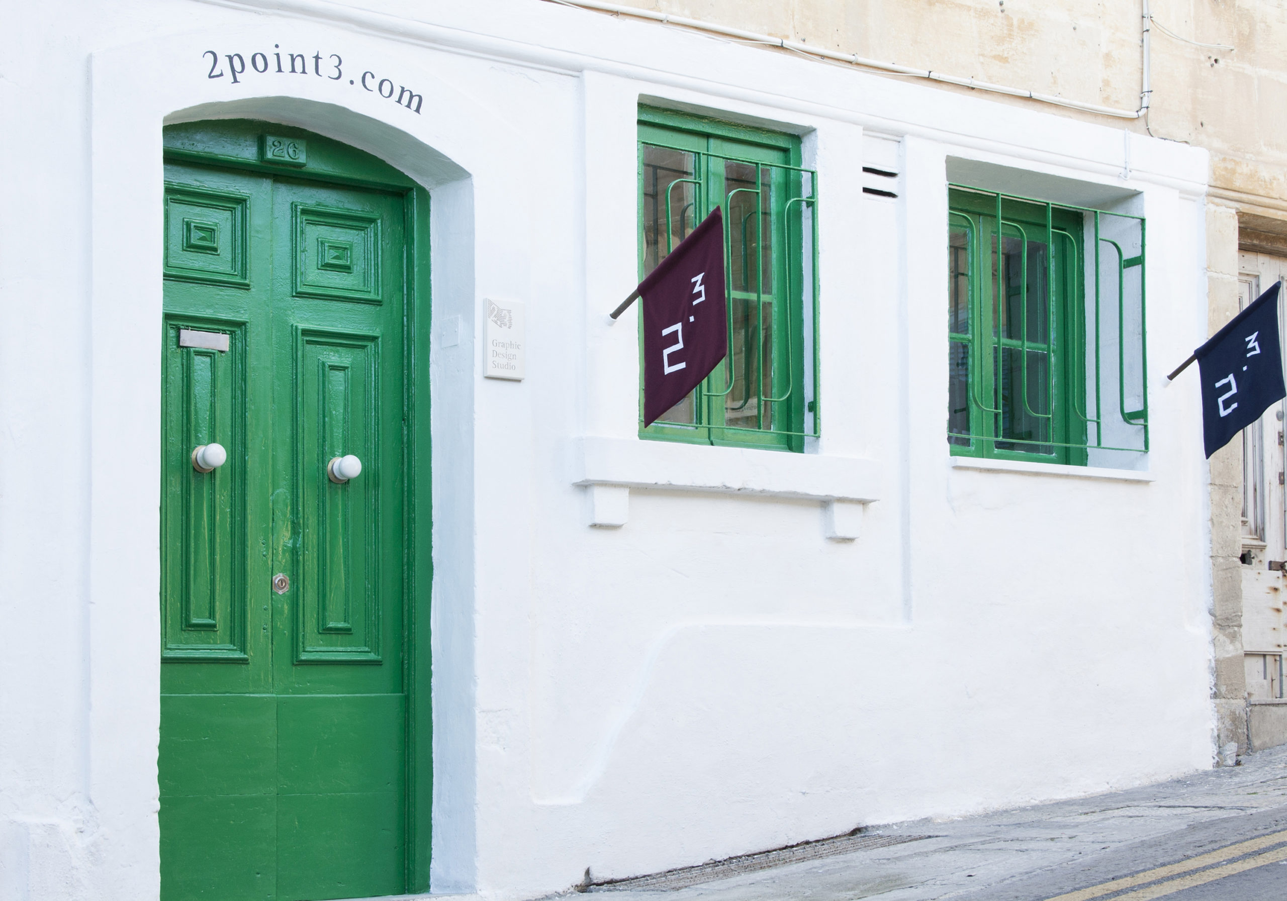 Graphic Design Studio - 2point3 - Malta, Europe