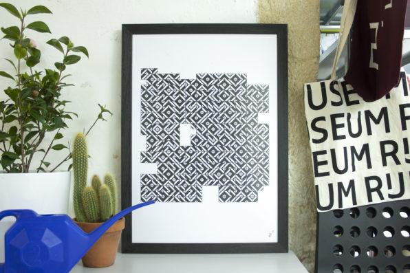 2point3 shop print tiles poster