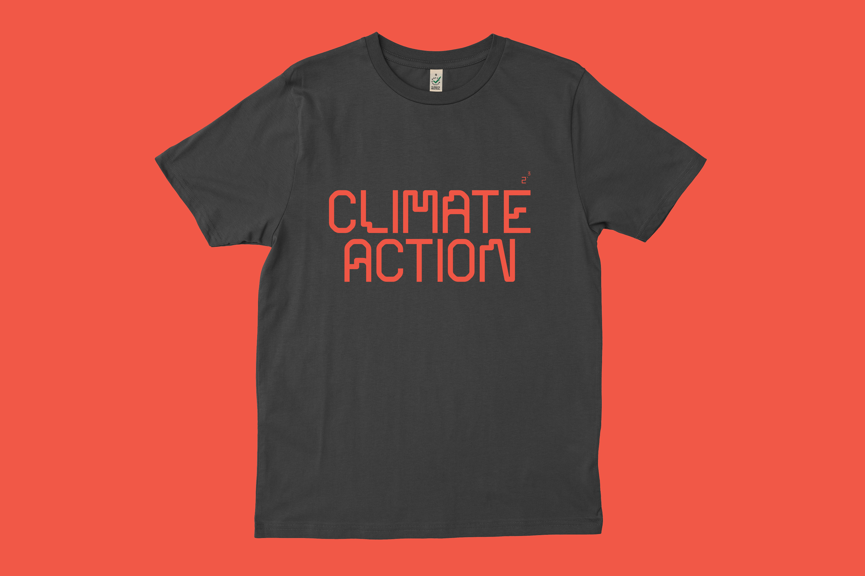 climate action 2point3 t-shirt buy everpress organic