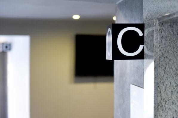 2point3 pergola signage malta hotel