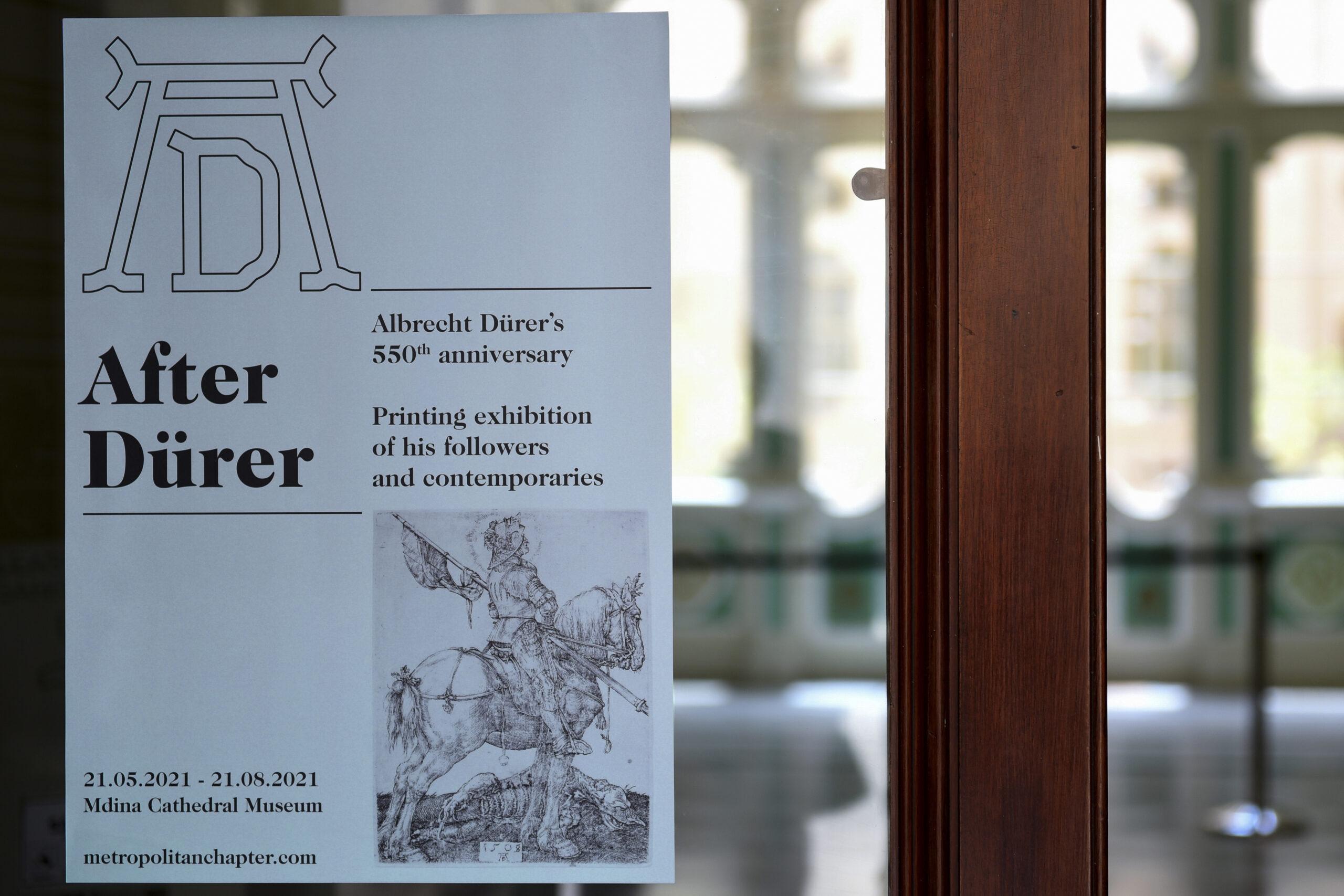 2point3 After Dürer Exhibition Identity Design